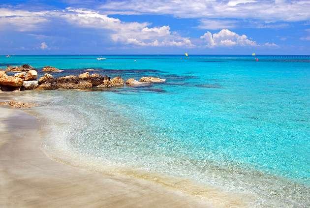 Tropical Island Beach Ambience Sound: Dél-Ciprus Legszebb Strandjai